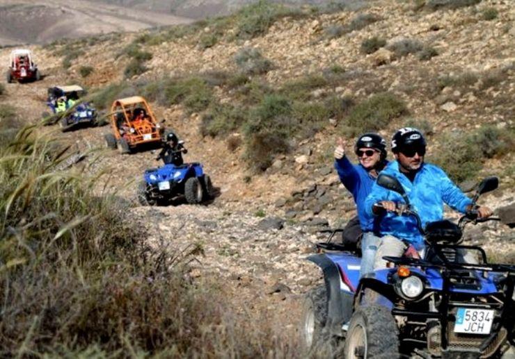 Off road quad and buggy caleta de fuste