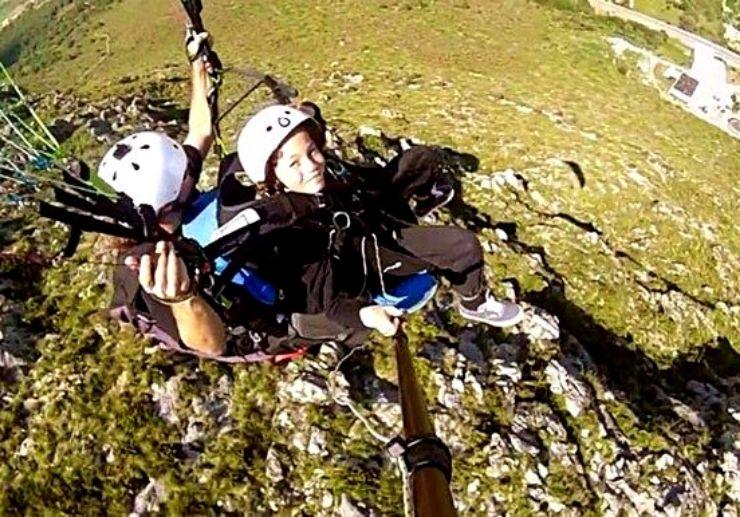 Mallorca tandem paragliding trip