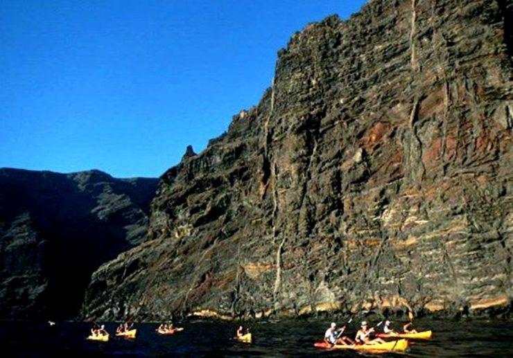 Tenerife Kayaking tour Masca to Los Gigantes