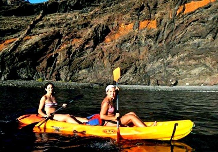 Tenerife kayaking excursion in Masca