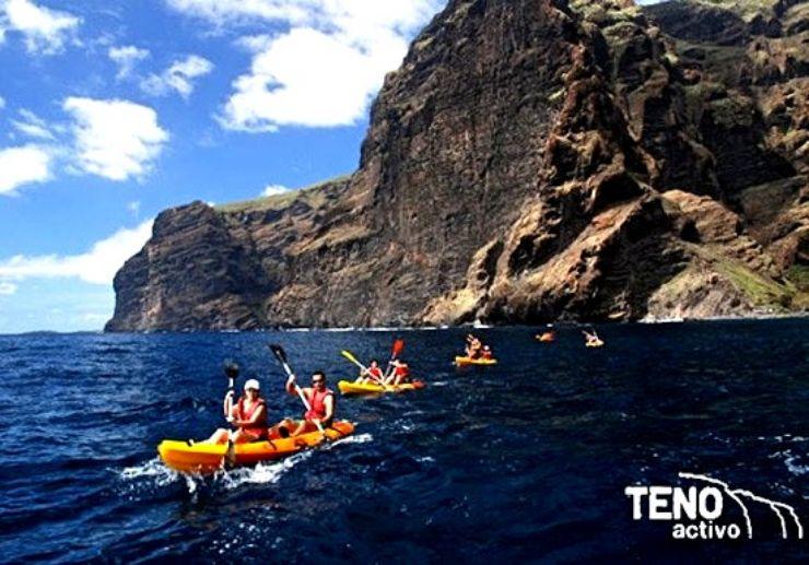 Sea kayak in Los Gigantes