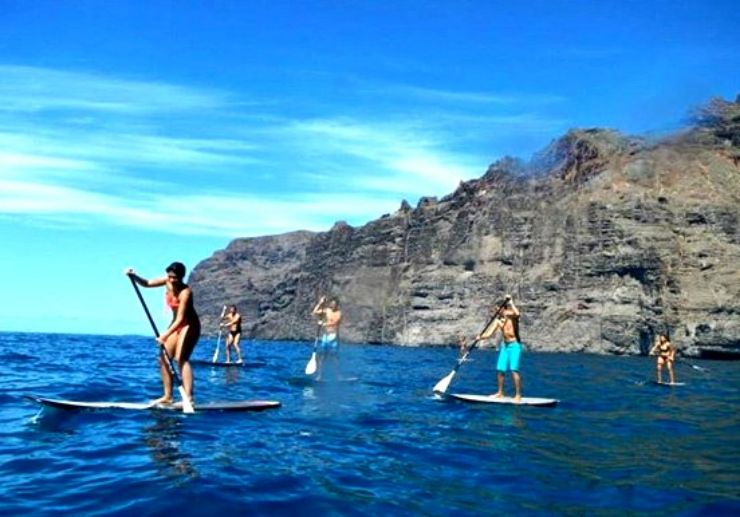 Stand up paddle tour in Tenerife