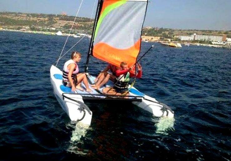 Catamaran sailing tour in Malta