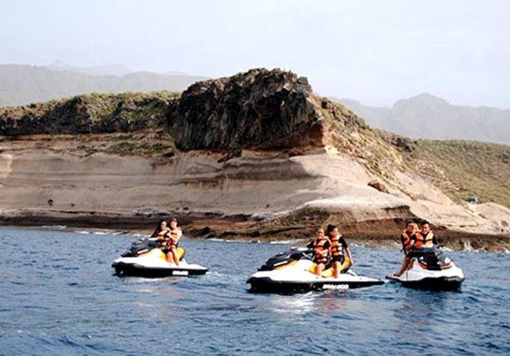 Tenerife jet ski safari with family and friends
