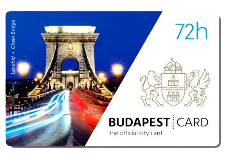 Budapest City Card 72h