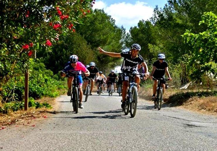 Mountain bike tour in Ibiza