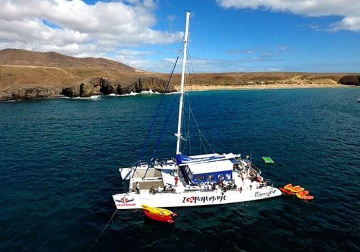 I love Papagayo catamaran cruise Lanzarote