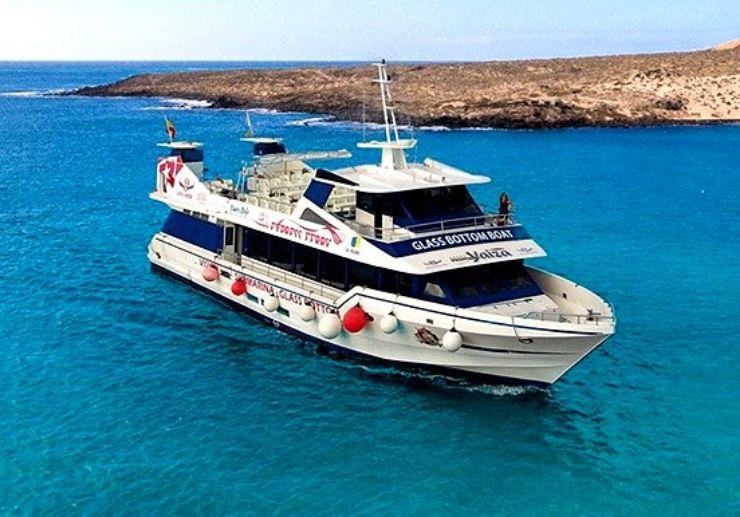 Ferry to La Graciosa island in Lanzarote