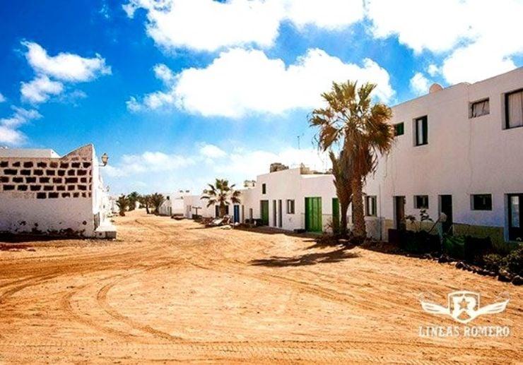 Explore the streets of La Graciosa island