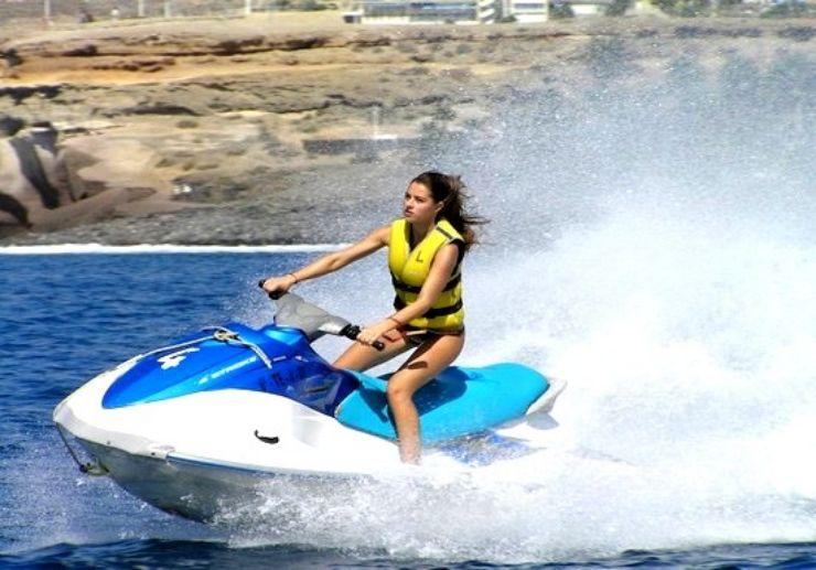 ride jet ski in Tenerife