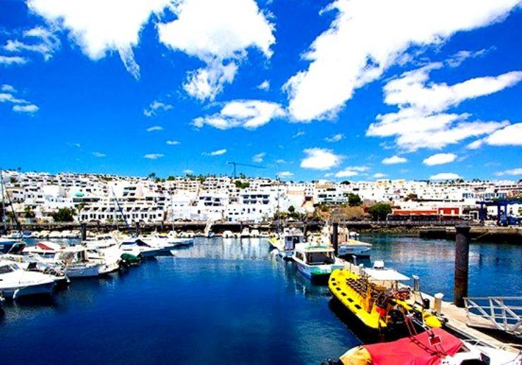 Port hopping Lanzarote water bus