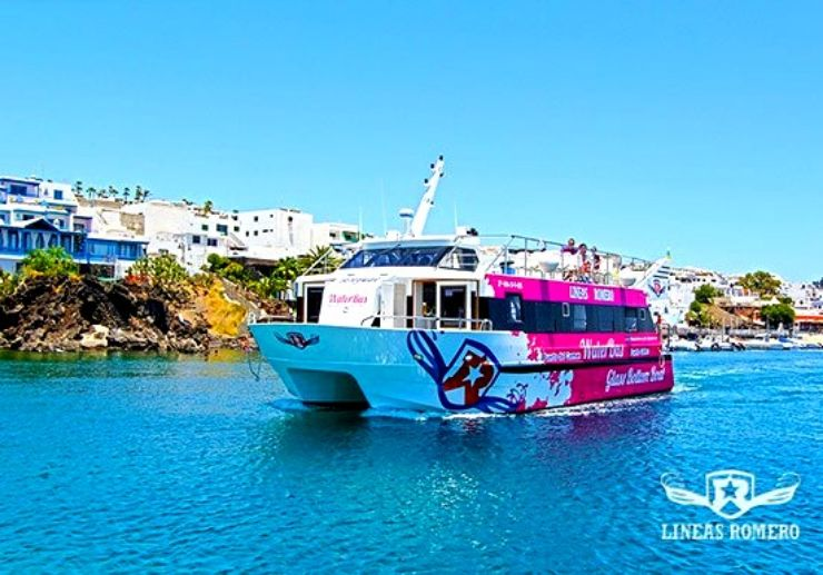 Waterbus from Puerto Carmen to Puerto Calero