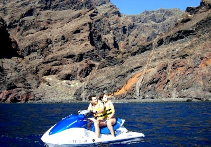 Guided jetski tours in Tenerife