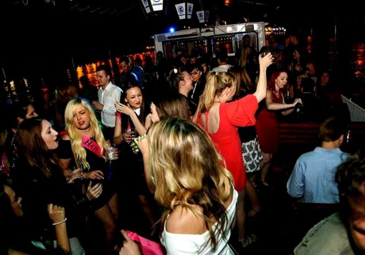 Have fun partying while cruising in Budapest