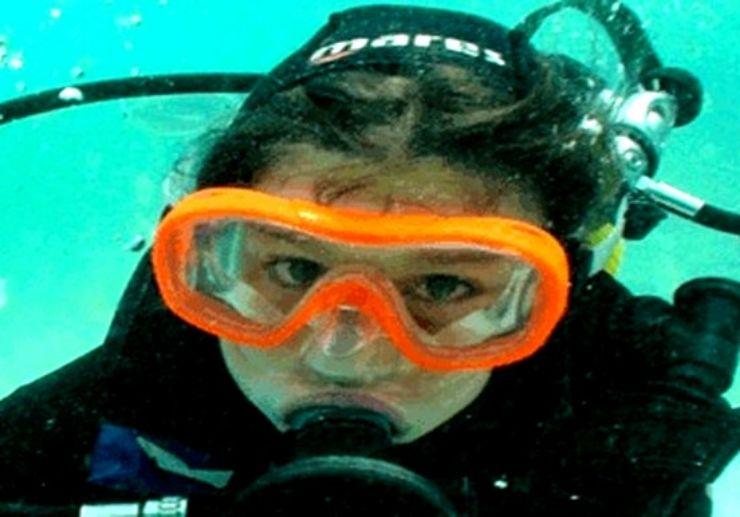 Lanzarote diving for children bubble maker