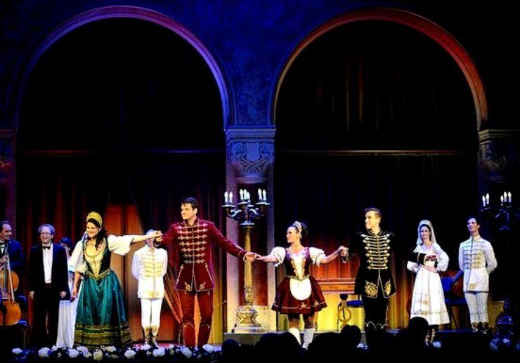 Hungarian Gala concert performers