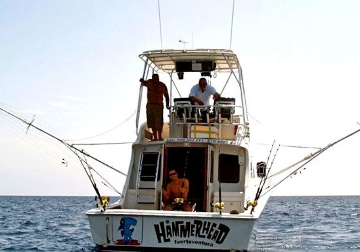 Boat fishing trip in Fuerteventura