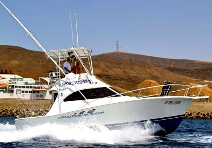 Fuerteventura sports fishing trip