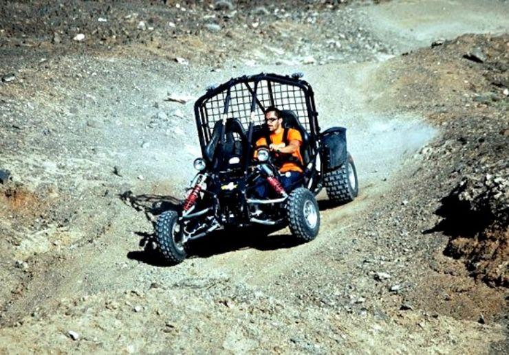 Jandia quad and buggy tour dirt tracks