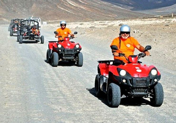 Jandia quad and buggy tour Fuerteventura