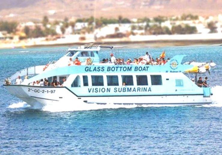 Glass Bottom Boat mini cruise and snorkelling
