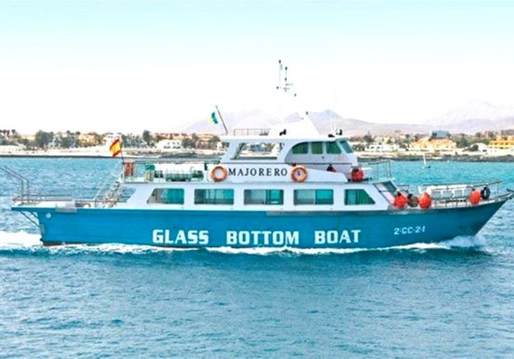 Mini cruise with glass bottom boat Isla Lobos