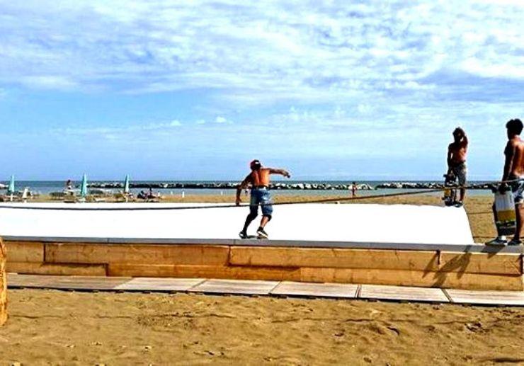 Corralejo surfing training land practice