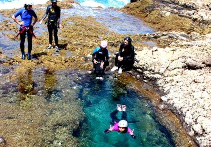 Gran Canaria coasteering swimming