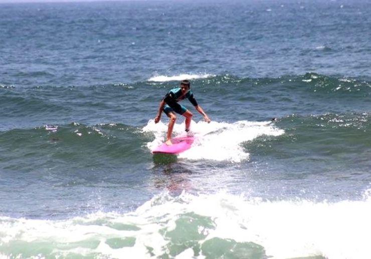 Improve surfing skills in Tenerife
