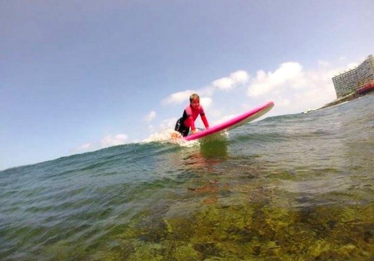 Surf lessons in Punta del Hidalgo