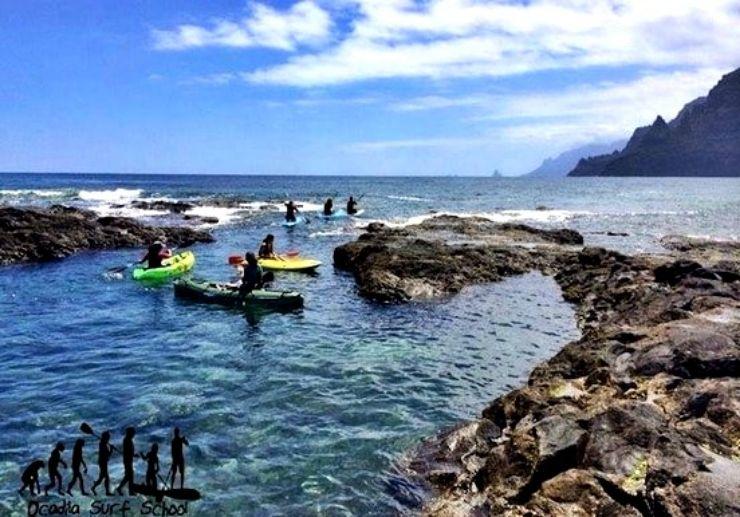 Kayaking and stand up paddle Punta del Hidalgo