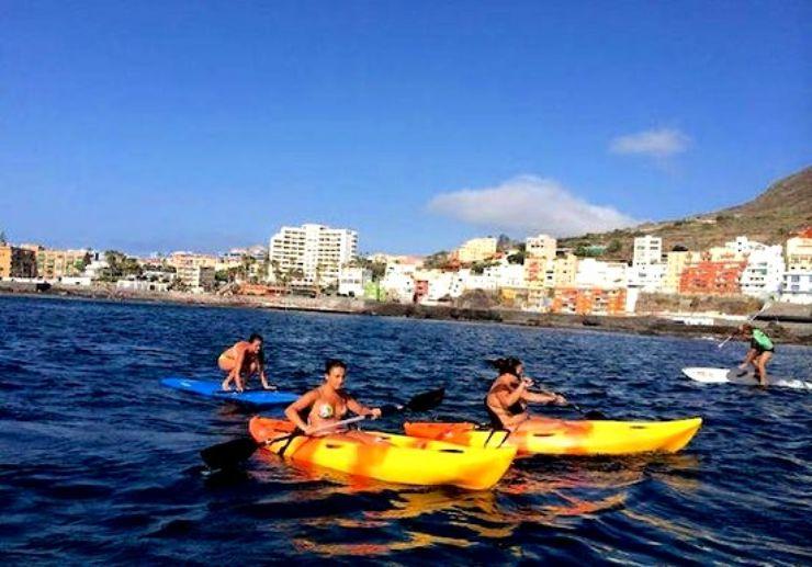 Punta del Hidalgo kayaking tour