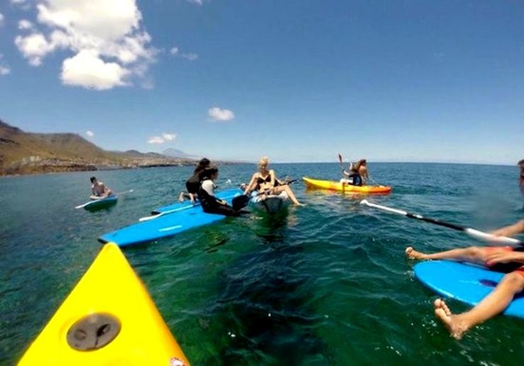 Enjoy SUP and kayak in Punta del Hidalgo