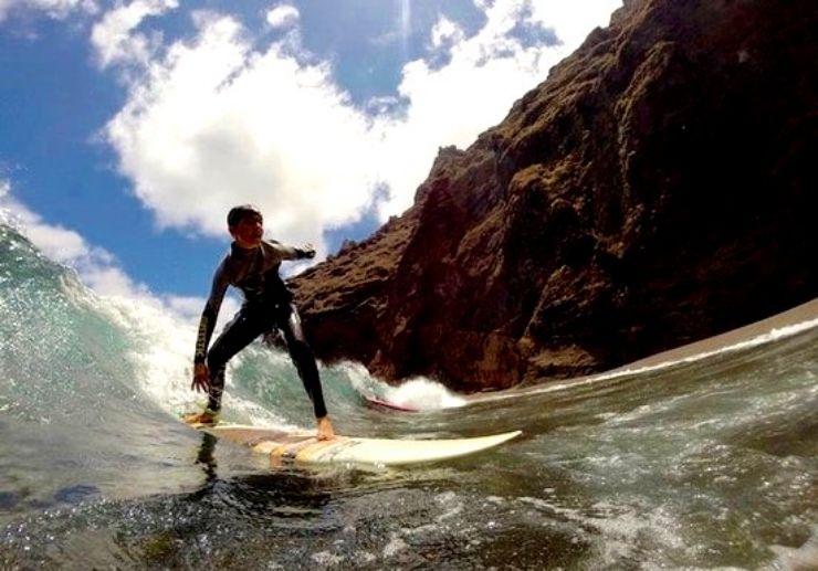 Punta del Hidalgo surf private lessons