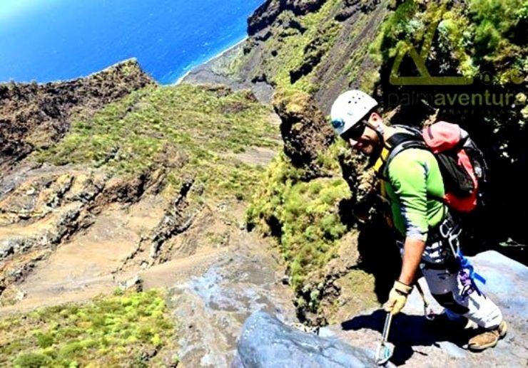Canyoning adventure in La Palma