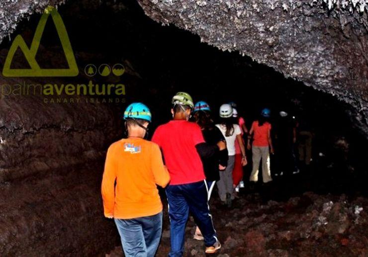 Explore caves via speleology tour in La Palma