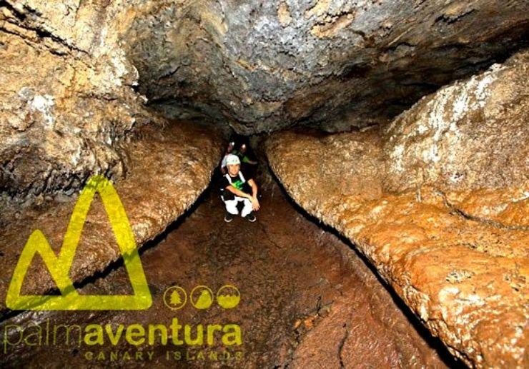 La Palma speleology tour