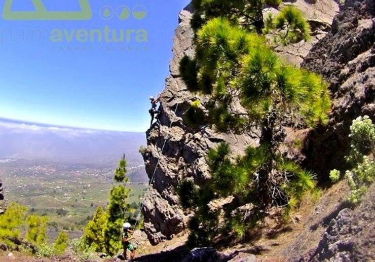 Experience rock climbing in La Palma