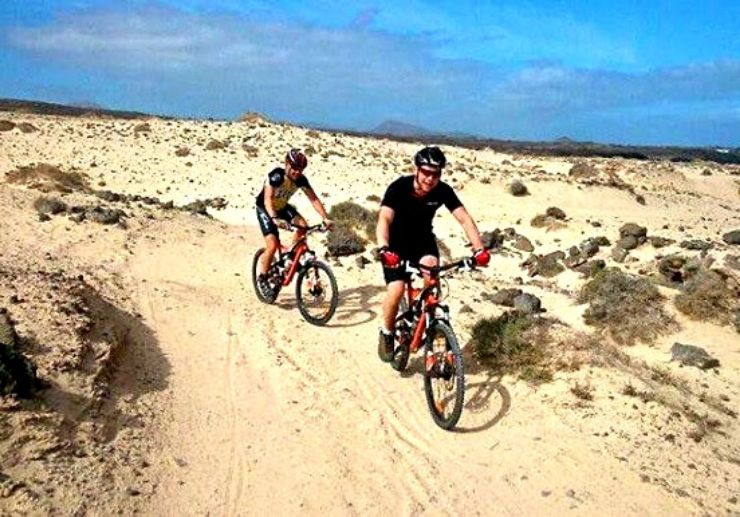Bike tour in Lanzarote