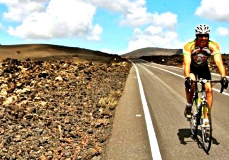 Road bike tour in Lanzarote