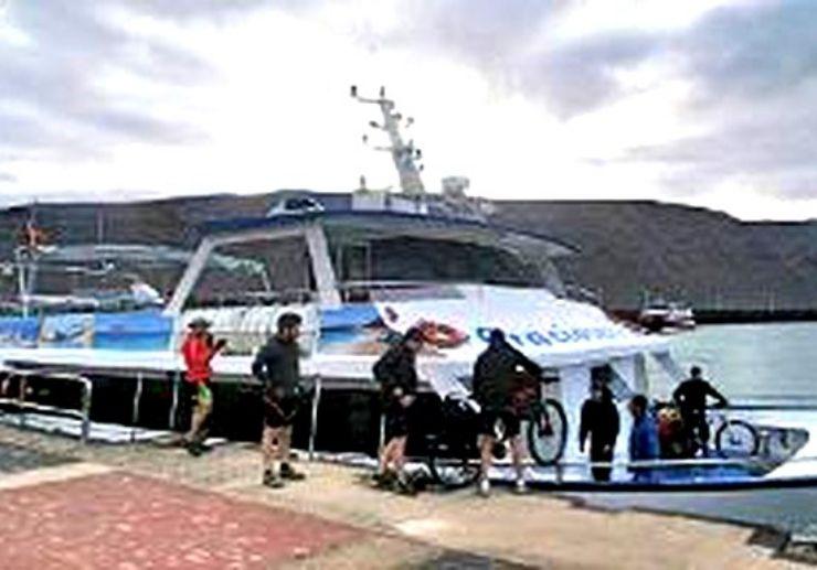 Mountain bike tour to Isla Graciosa Lanzarote