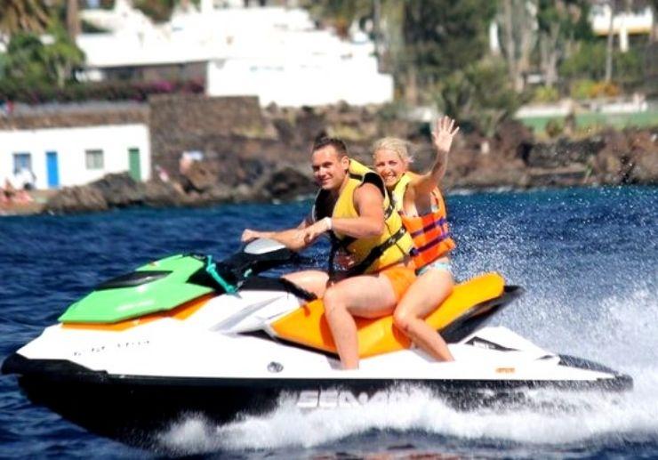 Explore Lanzarote coastline on Jetski safari