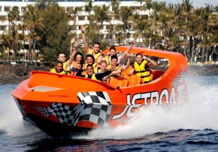 Puerto del Carmen Jet boat ride