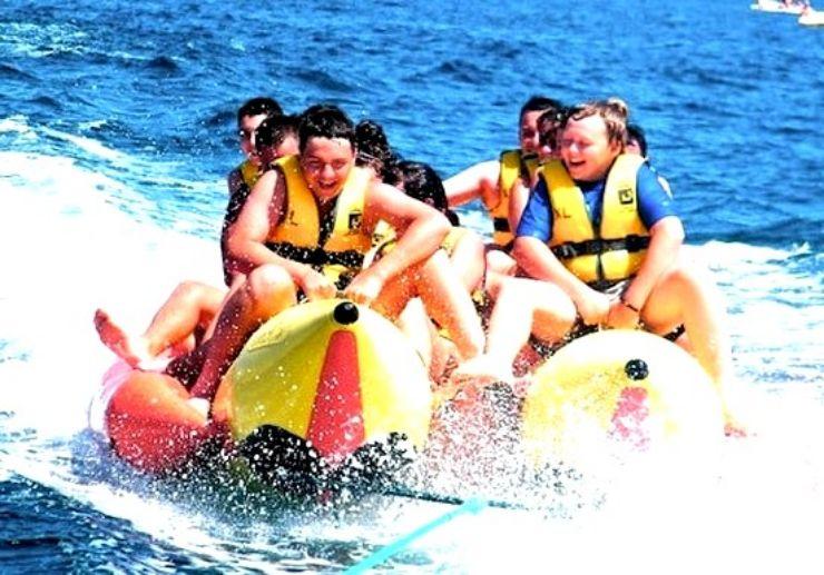 Lanzarote banana boat ride Puerto del Carmen