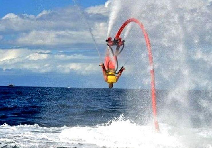 Flyboarding in Lanzarote