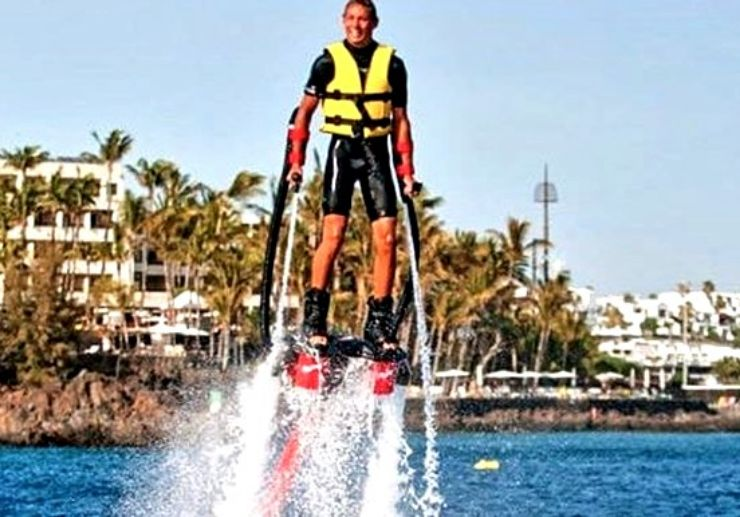 Lanzarote Flyboard experience