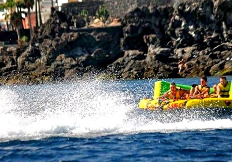 Crazy UFO fun ride Puerto del Carmen