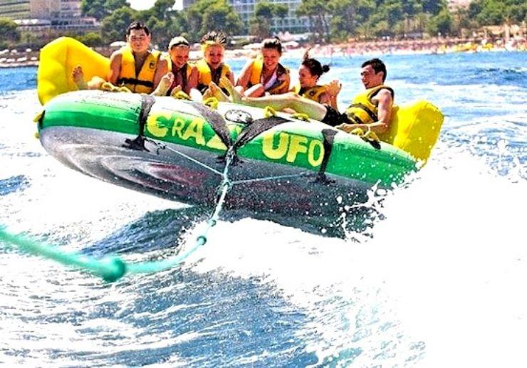 Crazy UFO ride in Lanzarote