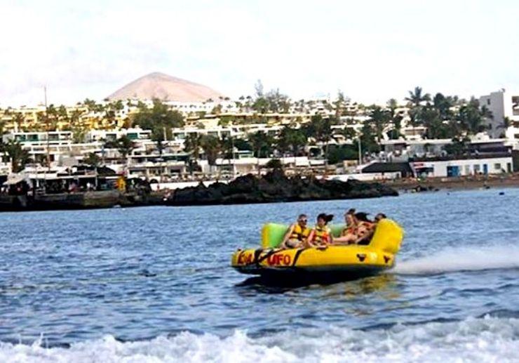 Ride a Crazy UFO in Puerto del Carmen
