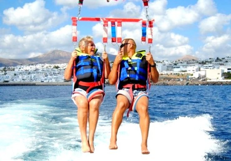 Parasailing combo deals in Lanzarote